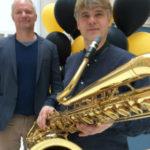 Unik saxofonföreställning på Kungliga Musikhögskolan