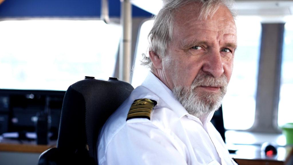 Allan Jonsson kapten på Djurgårdsfärjan