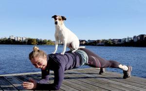 Träna ute med hund