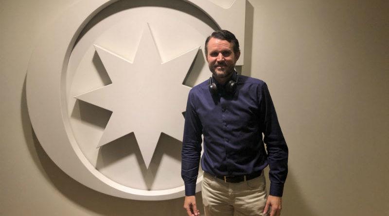 Innovationschef Fredrik Sandquist