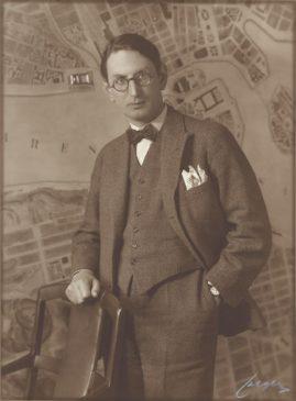 Borgarrådet Yngve Larsson, 1931.