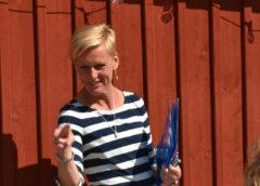 Ulrika Unell på Lärande i Sverige talar till sina anställda om vikten av innovation på företag