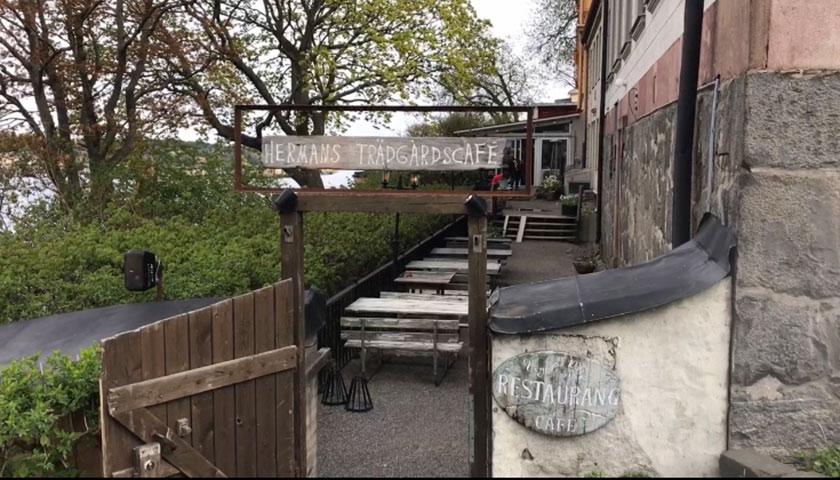Hermans trädgårdscafé