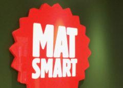Matsmarts rödvita logotyp