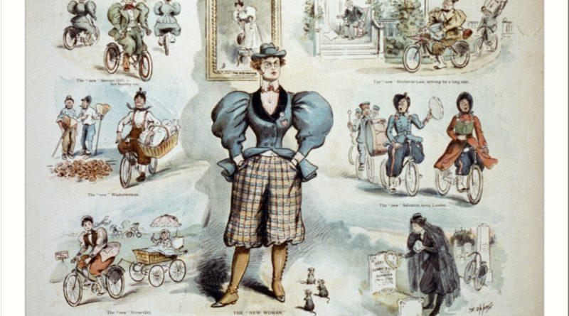 cyklister i roliga kläder