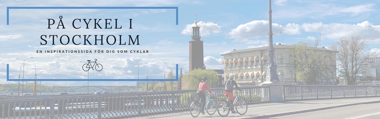 På cykel i Stockholm
