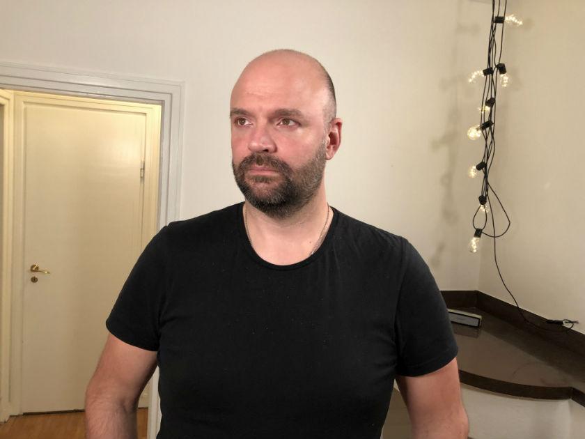 Erik Rönnqvist har Marfans syndrom