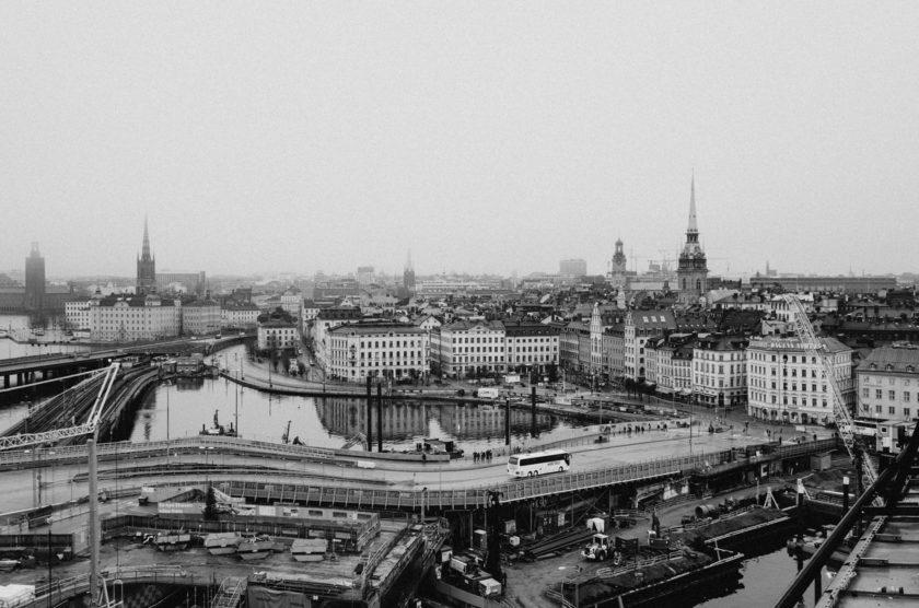 Slussen. Foto: Tanja Heffner/ Unsplash