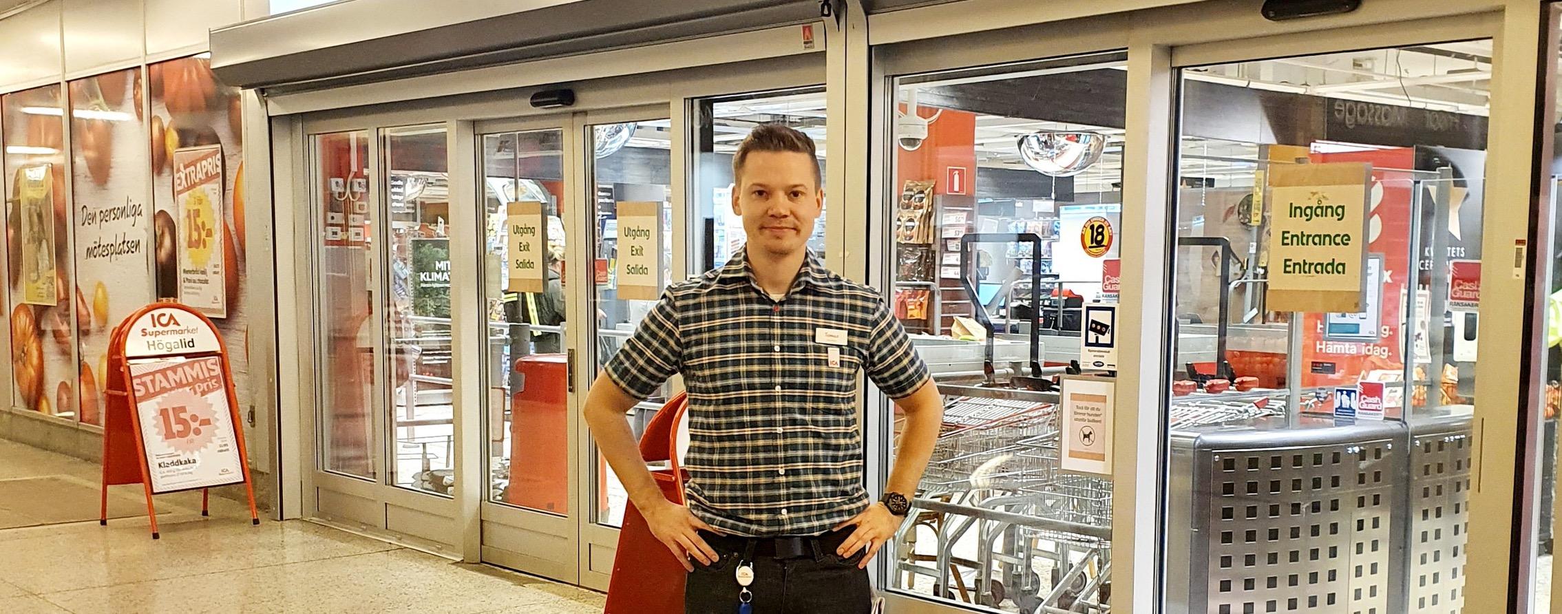 Tomas Taraldsson ICA Handlare i Hornstull